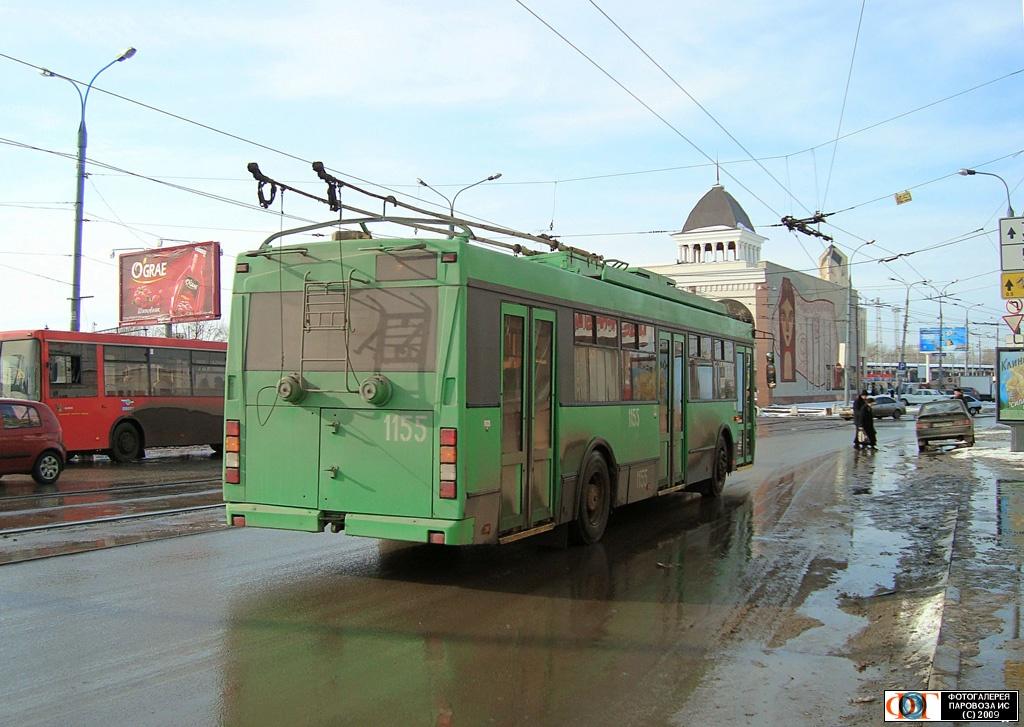 Троллейбус в Казани: маршрут и