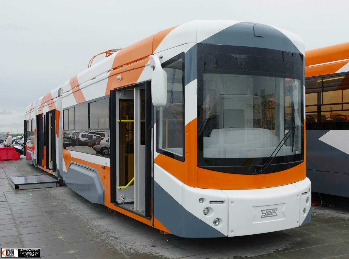 презентация низкопольного трамвая в нижнем новгороде
